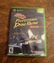IHRA Professional Drag Racing 2005 Microsoft Xbox 2004 Complete with Manual image 1