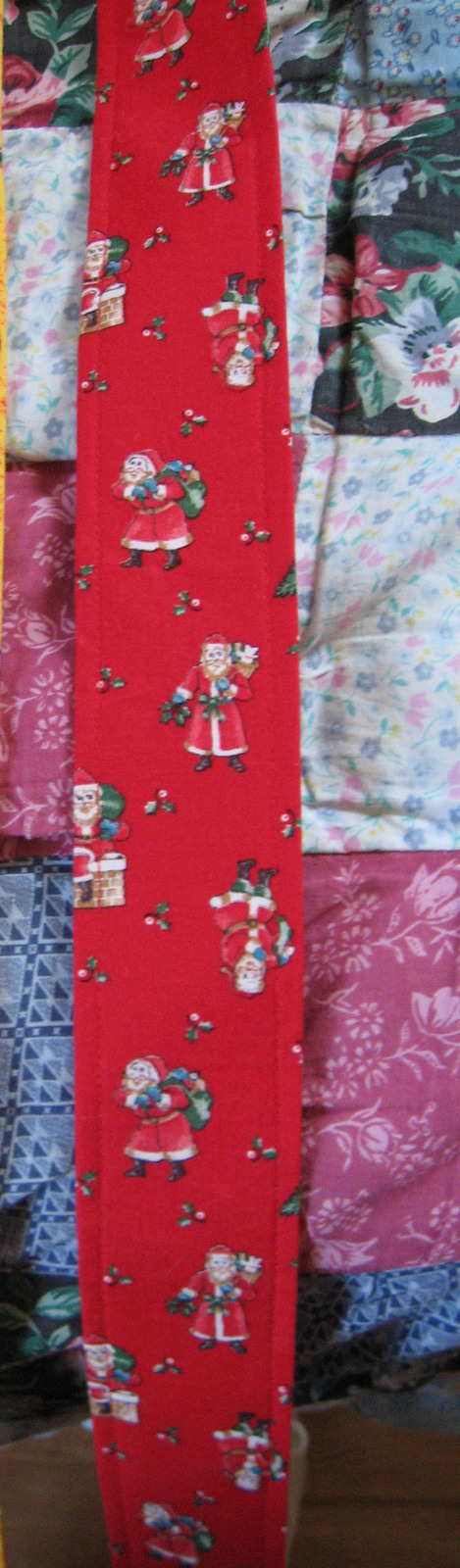 Ukulele/Mandolin/Guitar Strap/Santas/Christmas/WInter