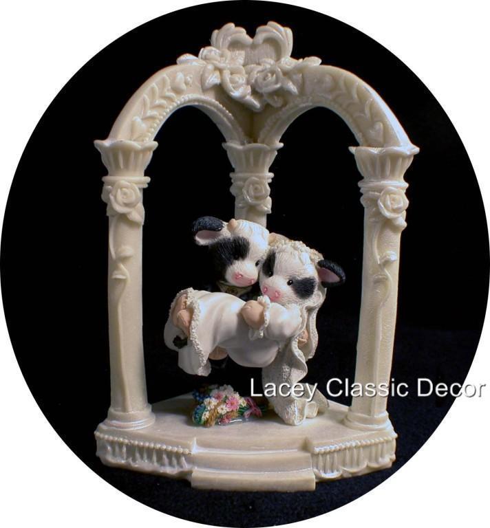 Marys Moo Cow Wedding Cake Topper Ivory And 50 Similar Items