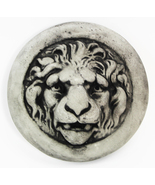 Lion Medallon Concrete Wall Plaque  - $29.00