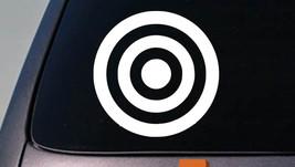 "Bullseye Bulls Eye 6"" Sticker Decal Car Window Truck 2 A Target Shooting Barrel - $2.99"