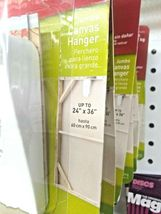 3M Command Damage Free Hanging 5LB Jumbo Canvas Hanger W/Strips SEALED NEW     image 4
