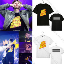 Kpop Bigbang G-Dragon T-shirt MADE FULL 10th Anniversary GD Tshirt Unise... - $12.07