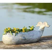 Adorable Whale Aluminum Outdoor Garden Patio Planter Flowers Pot,17''Wide. - $133.65