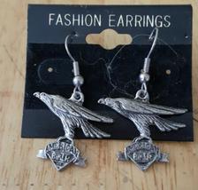 Biker Eagle Fashon Earrings  - $7.00