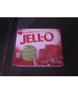 Jello Cranberry Gelatin Dessert 3 oz Box - $2.44