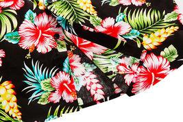 Men's Tropical Aloha Beach Party Hawaiian Luau Button Up Casual Dress Shirt XL image 6