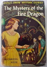 Nancy Drew no.38 Mystery of the Fire Dragon 2nd Print 1961B-2 hcdj Carol... - $32.00