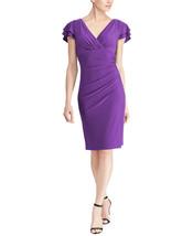 Lauren by Ralph Lauren Women Dame Purple Dress, 0, 2544-3 - $65.33