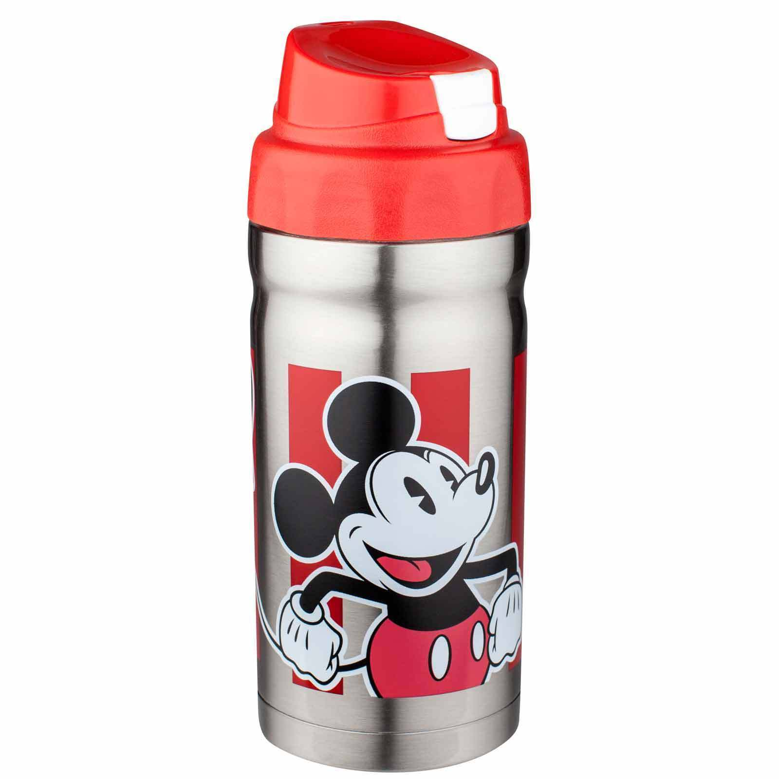 THERMOS-BEVERAGE BOTTLE. BRAND NEW! STAINLESS STEEL.MICKEY MOUSE - $15.00