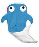 Quilted Shark Blanket (Ages 3 - 12) Sleeping Bag Sack Nap Mat with Pocke... - $69.29