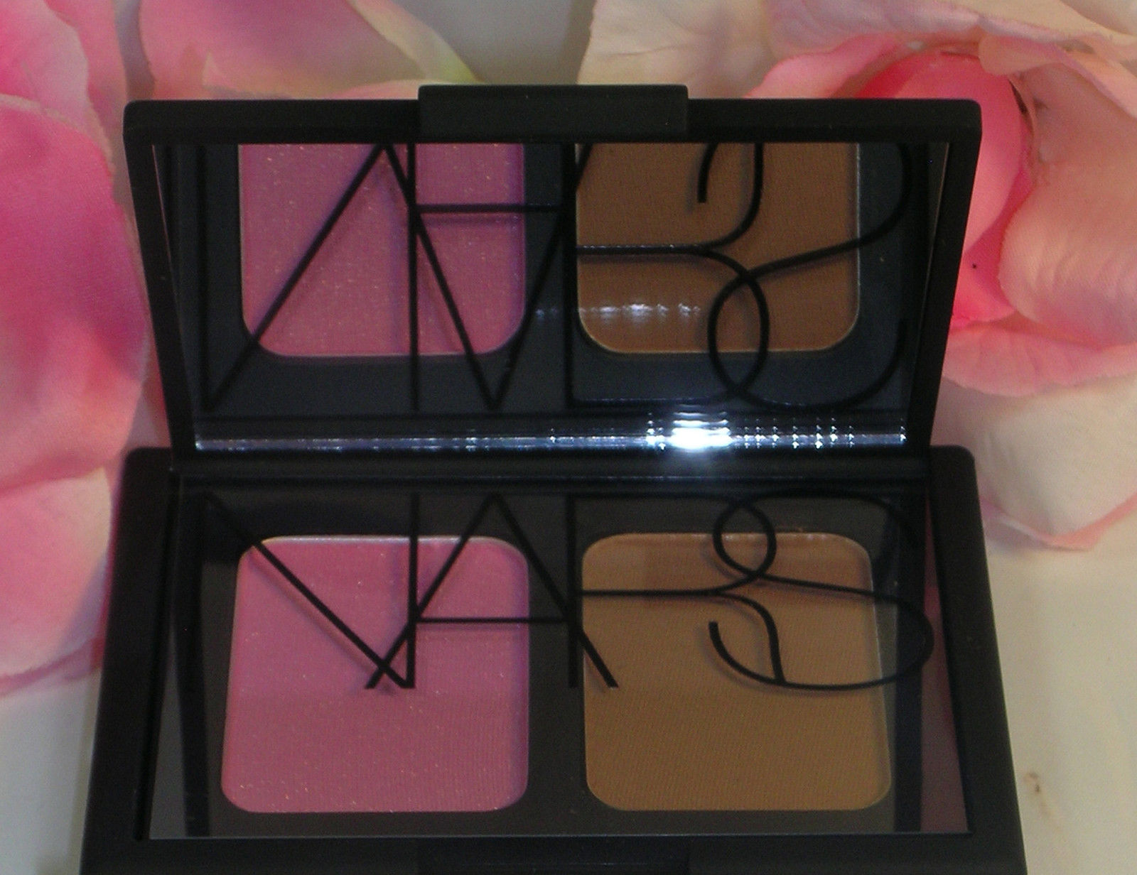 Primary image for New NARS Blush & Bronzer Compact Duo Angelika & Laguna  .16 oz 4.7 g Each