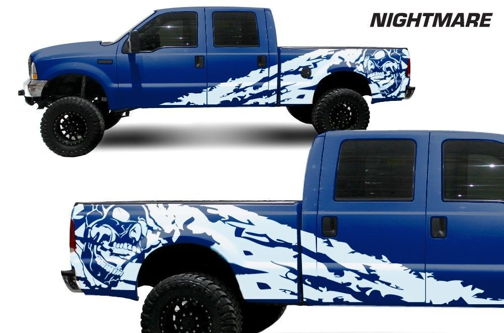 Vinyl Decal Nightmare Wrap Kit For Ford F 250 F 350 Truck