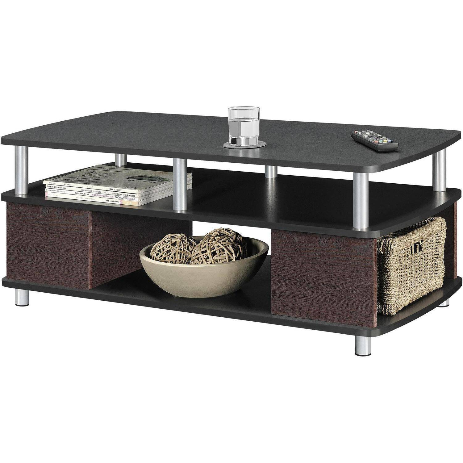 Wood coffee cocktail table living room and 50 similar items Contemporary coffee tables with storage