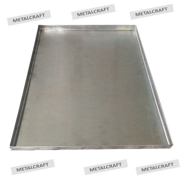 Metal Replacement Dog Crate Pan Tray Stainless Or