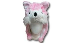 Cute Kawaii Anime Animal Hat Rave Beanie Cap Furry Plush Cosplay Dog Hus... - €7,09 EUR