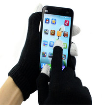 New Unisex Magic Touch Screen Gloves Texting For iphone Smartphone Stret... - $8.72