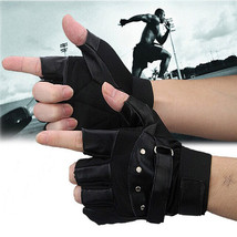 Men Military Tactical Gloves Soft PU Leather Outdoor Driving Motorcycle ... - $11.40