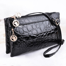 European Double Zipper Women Wallet Stone Pattern Purse Carteira Feminin... - $24.21