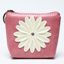 Summer Style Daisy Flower Print Women Organizer Wallet Coin Pocket Women... - $14.79