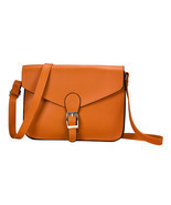 Vintage Women PU Leather Shoulder Crossbody Bag Fashion Ladies Satchel H... - $16.67