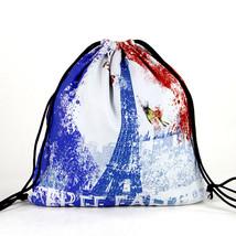 Fashion Unisex Punk Women Men Backpack Canvas Travel Student Summer Beac... - $17.05