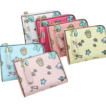 Vintage Womens Bifold Money Bag Cute Cartoon Student Card Holder Bifold ... - $18.45