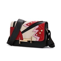 PU leather women bag summer new fashion shoulder bag small square packag... - ₨2,097.87 INR