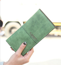 Women Wallet Lady Purse Frosted PU leatherNew Fashion Retro Carteira Fem... - $34.11