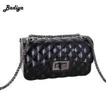 Quilted Fashion Purse Women PU Leather Chain Strap Shoulder Handbag Cros... - ₨4,571.50 INR