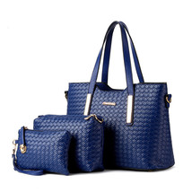 3PCS/Set Women Bag Composite Bag Women Messenger Bags Shoulder Bag Walle... - $77.82