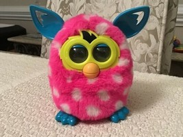 Furby Boom Figure Pink Polka Dots - Discontinued, A4332, Shape Its Personality - $19.95