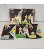 Vtg Creative Sports 60s Series Football Baseball Golf Track Tennis 5 Books - $148.46