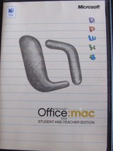 LOT OF 8 Office:Mac 2004 Student and Teacher edition 3 PRODUCT KEYS - $16.99