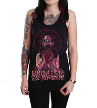 Bring Me The Horizon Zombie Girl Unisex Tank Top Vest Shirt S - XL - $19.98
