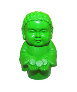 Pocket Buddha Green Prosperity Buddhism Mini Figure Figurine Toy - $4.99