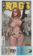 Rags #1 Antactic Press Comic 2nd Print Variant CHOOSE Your Copy from Menu - $14.99