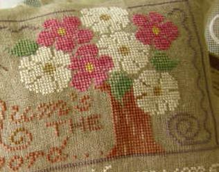 Mums The Word cross stitch chart Primrose Needleworks