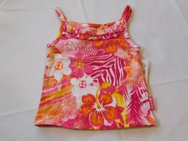 The Children's Place Baby Girl's Sleeveless Tank Top 6-9 Months Multi floral NWT - $13.35