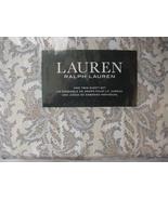 Ralph Lauren Golden Beige/Blue Paisley on Stripes Sheet Set Twin - $76.00