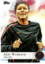 2012 Topps U.S. Olympic Team GOLD Medal #93 Abby Wambach -USA Women's So... - $1.99