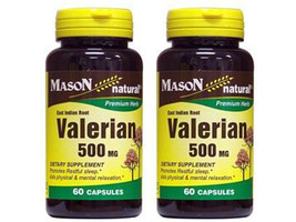 60 X 2 = 120 CAPSULES VALERIAN ROOT 500 mg VALERIANA EXTRACTO Sleep stress - $10.72