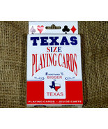Texas Sized Playing Cards - $7.98