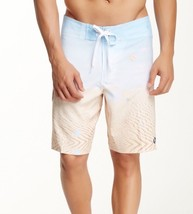 NWT Ezekiel Men's White Sands Printed Board Shorts ER142008N White Sands 30 - $24.74