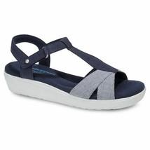 Grasshoppers EF57942 Women's Clover Stripe sandals Navy, 10 Med - $49.45
