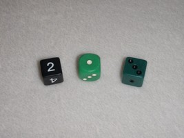 Outburst Replacement Board Game Dice Only Parts - $11.29