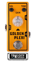 Tone City Golden Plexi Distortion TC-T7 EffEct Pedal Micro as Mooer Hand... - $59.00