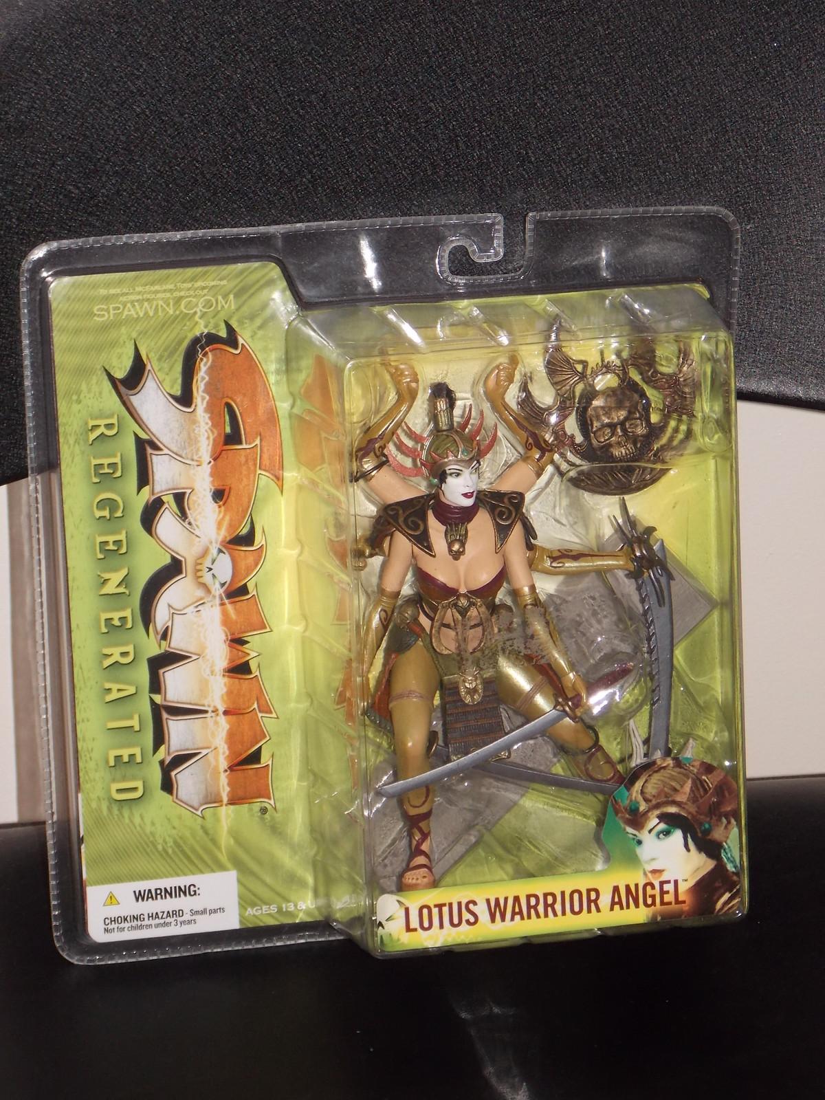 2005 McFarlane Spawn Regenerated Lotus Warrior Angel Figure New In The Package