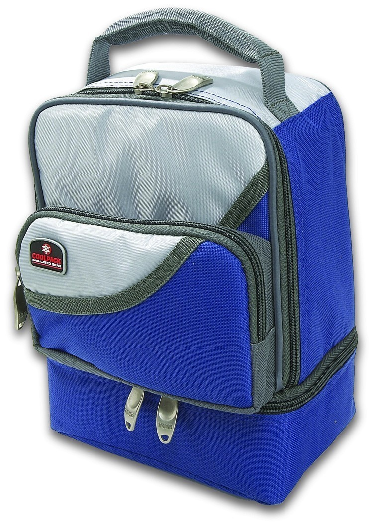 Primary image for Insulated Lunch Bag Cooler dual compartment,cushion handle,Free food container!