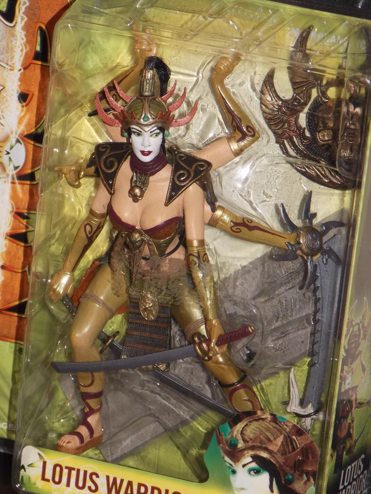 2005 McFarlane Spawn Regenerated Lotus Warrior Angel Figure New In The Package image 3